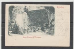 STM564 POSTKARTE JAHR 1902  STEIN THEATER In HELLBRUNN GEBAUCHT - Salzburg Stadt