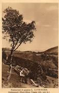 CPA - Environs De WILLER-sur-THUR - GOLDENMATT (68) - Aspect De La Ferme-Auberge L.Lutringer En 1931 - Francia