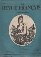 LA REVUE FRANCAISE 11 04 1926  SARAH BERNHARDT - BARBEY D'AUREVILLY - AZORIN - INSECTES BIJOUX - ANATOLE LE BRAZ - RUGBY - Journaux - Quotidiens