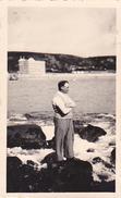 26186 Deux 2 Photo De 1936 Bretagne France -Trégastel - - Lieux