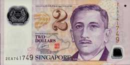 SINGAPOUR 2 DOLLARS De 2005nd  Pick 46  UNC/NEUF - Singapour