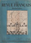 LA REVUE FRANCAISE 25 01 1925 - SAINT CHARLEMAGNE - PAUVRES - KU-KLUX-KLAN - JONNART ACADEMIE FRANCAISE Mgr BAUDRILLART - Other