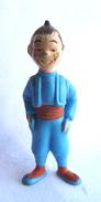 FIGURINE PUBLICITAIRE ESSO France Peinte -Tintin - NIKO (3) - Tintin