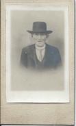 Photographie Montée Sur Carton/Petit Format/Le Roy/Tête De Paysan Breton//Photographe/Loguivy-Plougras/1875     PHOTN215 - Photos
