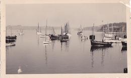 26191 Deux 2 Photo De 1935 Bretagne France - Douarnenez -bateau Voilier