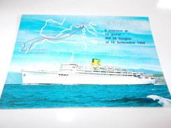 B642  Transatlantico Enrico C.viagg. - Barche