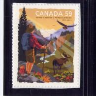 CANADA, 2011, #2470. PARK CANADA 100th ANNIVERSARY  SINGLE M NH - Carnets