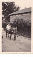 26192 Trois 3 Photo De 1935 Grand Couronne, France 76 - Ane Monkey Famille - Lieux