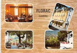 48 - Florac - Central Hôtel Et De La Poste - 4 Beaux Plans - Florac