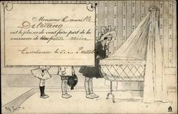 61 - COURTOMER - Faire-part De Naissance - Courtomer