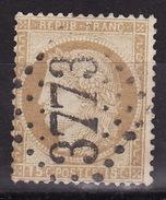 FRANCE 1872 CERES Mi 53 GC 3773 STE MENEHOULD  USED - 1871-1875 Ceres