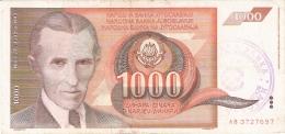 BOSNIE - HERZEGOVINE   1000 Dinara   ND (1992)   P. 2 - Bosnie-Herzegovine