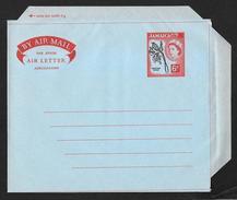 JAMAICA Aerogramme 6d Queen & Doctor Bird C1950s-1960s Unused! STK#X21143 - Jamaica (...-1961)