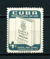 Cuba  Nº Yvert  466  En Nuevo - Cuba