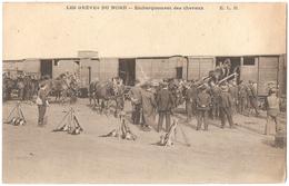 Dépt 59 - DENAIN - Les Grèves Du Nord - Embarquement Des Chevaux - (ELD) - Denain