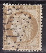 FRANCE 1872 CERES Mi 53 GC 2377 MOISSAC  USED - 1871-1875 Ceres