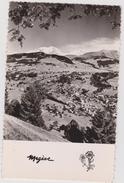 Haute  Savoie :  MEGEVE : Le Mont D ' Arbois Et Mont  Blanc  1959 - Megève