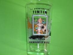 Verre Publicitaire AMORA Tintin Le Trésor De Rackham Le Rouge 1994 - Verres