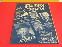 Musique & Partitions > Chansonniers > La Raspa De Papa -Paroles Géo Koger -Musique Jack Ledru, Marius Coste 1949 - Musique & Instruments