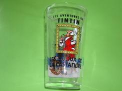 Verre Publicitaire AMORA Tintin Les Bijoux De La Castafiore 1994 - Verres