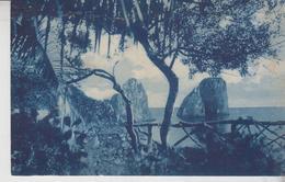 Capri Napoli I Faraglioni 1928 Annullo Perfetto Marina Grande  Gg - Napoli