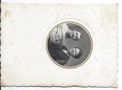 Photographie Montée Carton/Moy.format/Militaire Avec épouse/Médaille Militaire/Cabry/Hesdin/P De C/Vers1910-30  PHOTN222 - Guerre, Militaire