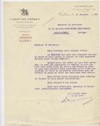 Toulouse, Labouche Frères, Imprimerie,Société Fromagère Méridionale,1931 - Printing & Stationeries