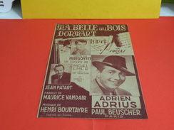 Musique & Partitions > Chansonniers > Ma Belle Au Bois Dormant -Paroles Maurice Vandair -Musique Henry Bourtayre 1944 - Musique & Instruments