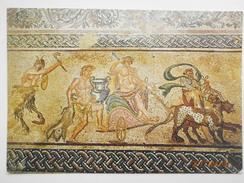 Postcard Floor Mosaic 3rd Century AD Paphos Cyprus My Ref B2899 - Cyprus