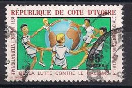 YT N° 323 - Oblitéré - Lutte Contre Le Racisme - Côte D'Ivoire (1960-...)