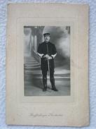 ANCIENNE PHOTO D'UN MILITAIRE DE 1916 / PHOTO FAITE PAR LAUFFENBURGER A CONSTANTINE ALGÉRIE - War, Military