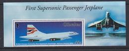 Gibraltar 2003 First Supersonic Passenger Jetplane 1v ** Mnh (ML164C) - Gibilterra