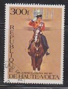 UPPER VOLTA Scott # 437 Used - QEII Silver Jubilee - Upper Volta (1958-1984)