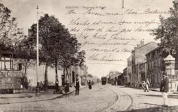 ROANNE FAUBOURG DE PARIS TRAMWAY - Roanne