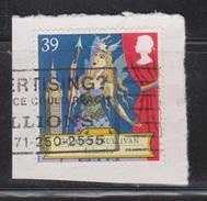 GREAT BRITAIN Scott # 1462 Used On Piece - 1952-.... (Elizabeth II)