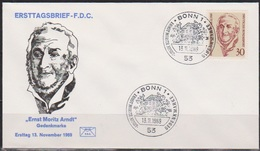 BRD FDC 1969 Nr.611 200.Geb.Ernst Moritz Arndt ( D 4698 ) - BRD