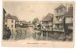 Colorisé, 1905, SALIES DE BEARN Pyrénées Atlantique. LE SALEYS. Lavoir. - Salies De Bearn