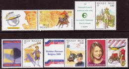 Belgique COB 2996 à 3000 ** (MNH) - Unused Stamps