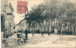 DOURGNE   -  ( 81 )  La  Place  De  Dourgne  En  1900 - Dourgne