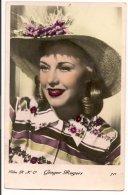 L103A047 -  Guinger Rogers - Actrice Et Danseuse Américaine -(avec Fred Astaire) - Film RKO N°711 - Artistes