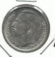 Luxemburgo_1968_1 Franc. KM 55 - Luxemburgo
