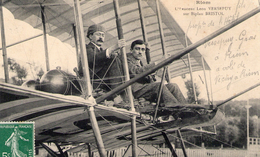 RIOM - L'Aviateur Léon VERSEPUY Sur Biplan BRISTOL - TBE+ - Riom