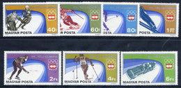 HUNGARY 1975 Winter Olympics, Innsbruck Set MNH / **.  Michel 3089-95 - Hungary