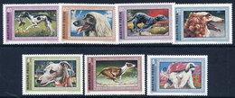 HUNGARY 1972 Greyhounds Set MNH / **.  Michel 2742-48 - Hungary