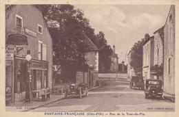 (6)    FONTAINE-FRANCAISE - Rue De La Tour Du Pin - Francia