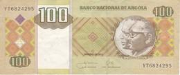 BILLETE DE ANGOLA DE 100 KWANZAS DEL AÑO 2011 (BANKNOTE) - Angola
