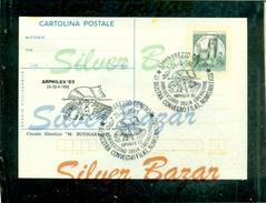 AREZZO-ANNIVERSARIO LIBERAZIONE-ARPHILEX-CARTOLINA POSTALE  SOPRASTAMPA PRIVATA-ANNULLO SPECIALE-MARCOFILIA - Patriottiche