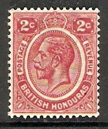 002096 British Honduras 1926 2c MH - Britisch-Honduras (...-1970)