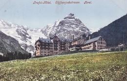 Österreich,1906  Mi. 134. Stempel: TRAFOI 2 18.7.06. Hotelstempel V. Trafoi -Hotel Stilserjoch - Hotels & Restaurants