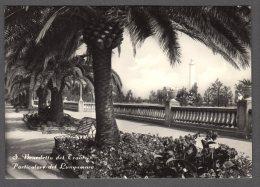 1959 S. BENEDETTO DEL TRONTO LUNGOMARE FG V  SEE 2 SCANS TARGHETTA AL FORO ROMANO - Altre Città